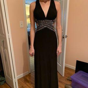 New black prom dress